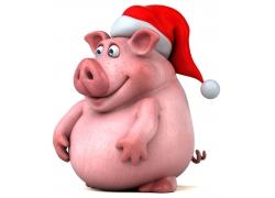 3D卡通猪