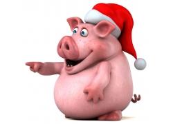 3D卡通小猪