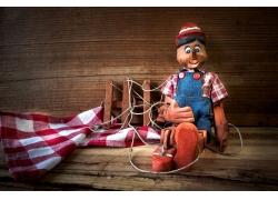 木偶玩具摄影