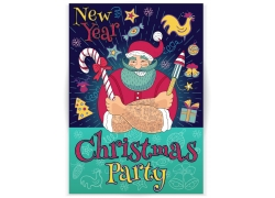 圣诞节卡通背景设计