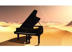 沙漠上的钢琴