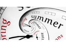 创意英文时钟