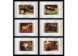 野生动物邮资信卡图片