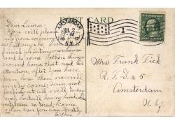邮戳邮票明信片背景图片
