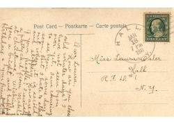 邮票邮戳明信片背景图片