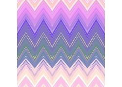 紫色渐变锯齿背景