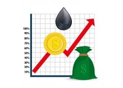 金融商务图表设计