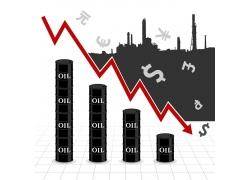 石油工业图表背景