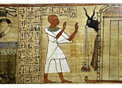 埃及人物壁画图片