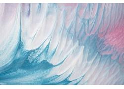 抽象蓝色水彩背景