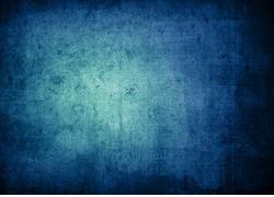 怀旧蓝色墙壁