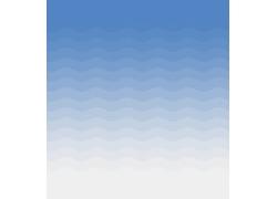 浅蓝色波纹背景