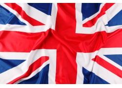 彩色的英国国旗