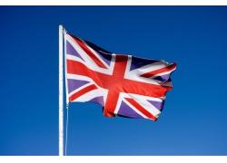 飘动的英国国旗