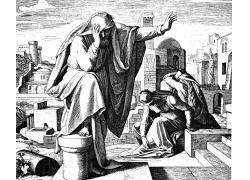 圣经人物素描