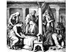 圣经故事插画