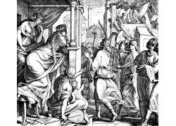 圣经场景插画