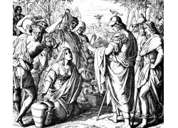 圣经故事版画