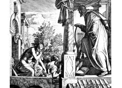 圣经人物插图