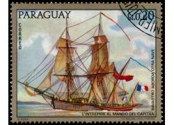 印章帆船邮票图片