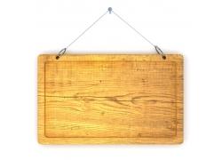 木板挂牌背景