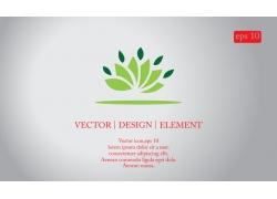 创意莲花logo设计