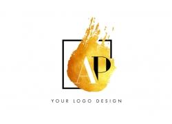 ap墨迹logo
