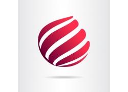 球形丝带商标设计
