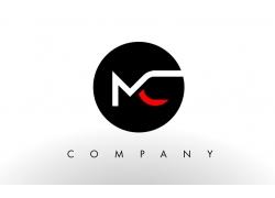 MC字母标志设计