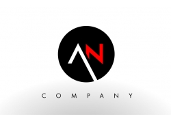 AN字母logo设计
