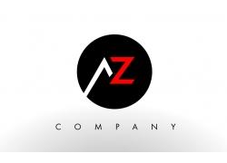 AZ字母logo设计