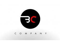 BC字母logo设计