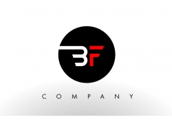 BF字母LOGO设计