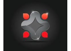 水晶质感商标设计