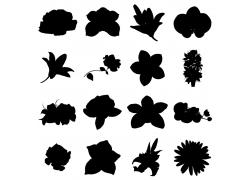 花卉植物剪影