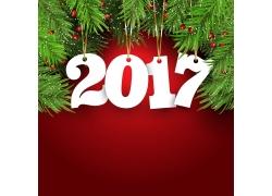 2017圣诞节海报背景