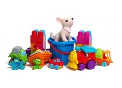 各种儿童玩具