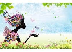 春季宣传海报背景设计