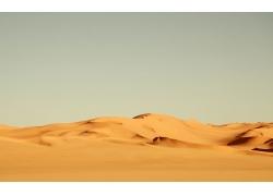 美丽沙漠风光