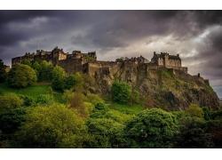 城堡风景壁纸
