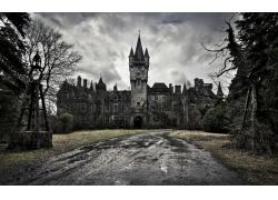 古老破旧的城堡