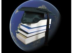 书本与学士帽