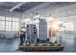 工程师与高楼大厦