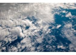 蓝天与白云