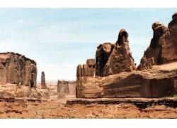 戈壁沙漠背景