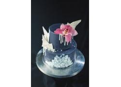 兰花与生日蛋糕