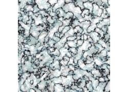 浅蓝色曲线大理石图片