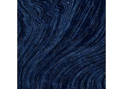 宝蓝色曲线大理石图片