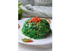 虾米香野菜菜肴