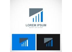 创意条纹logo设计图